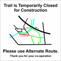 Trail Closure Notice